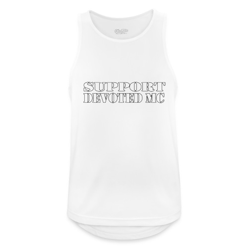 T-Shirt SUPPORT DEVOTEDMC SHOP 1 - Pustende singlet for menn