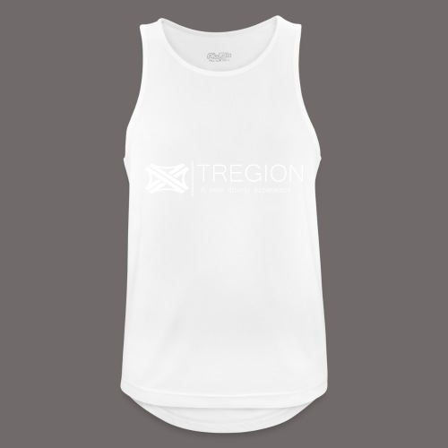 Tregion Logo wide - Men's Breathable Tank Top
