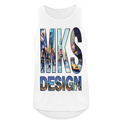 MERKOS modelo 3 - Camiseta sin mangas hombre transpirable