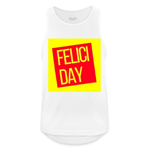 Feliciday - Camiseta sin mangas hombre transpirable
