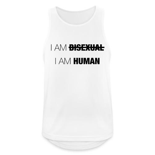 I AM BISEXUAL - I AM HUMAN - Men's Breathable Tank Top