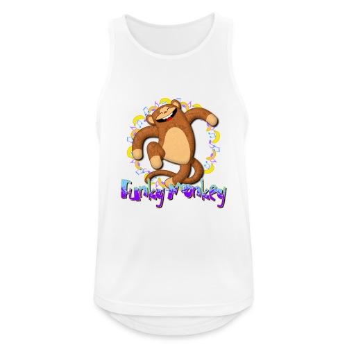 Funky Monkey - Canotta da uomo traspirante