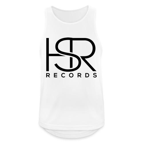 HSR RECORDS - Canotta da uomo traspirante