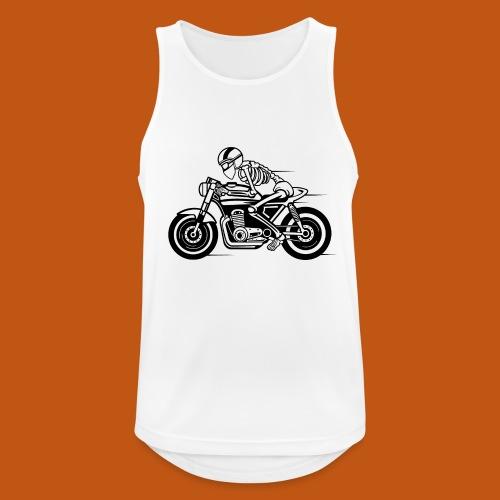 Cafe Racer Motorrad 05_schwarz - Männer Tank Top atmungsaktiv