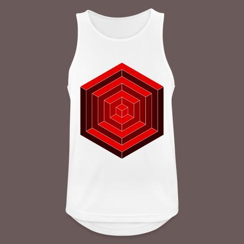 Hexagon Cube - Herre tanktop åndbar