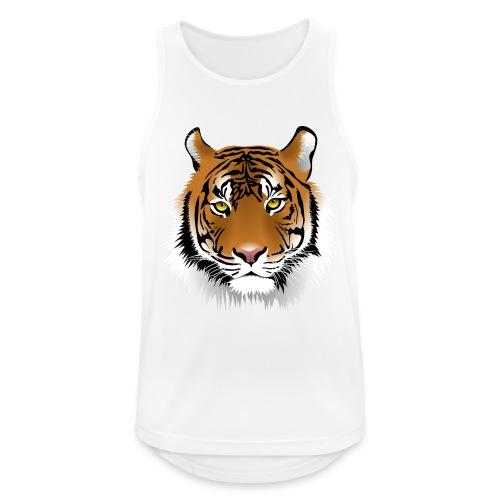 tiger numero 1 - Camiseta sin mangas hombre transpirable