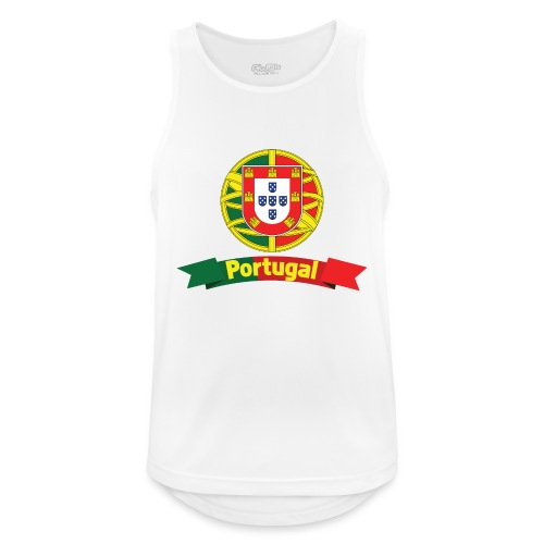 Portugal Campeão Europeu Camisolas de Futebol - Men's Breathable Tank Top