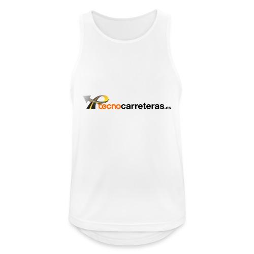 Tecnocarreteras - Camiseta sin mangas hombre transpirable