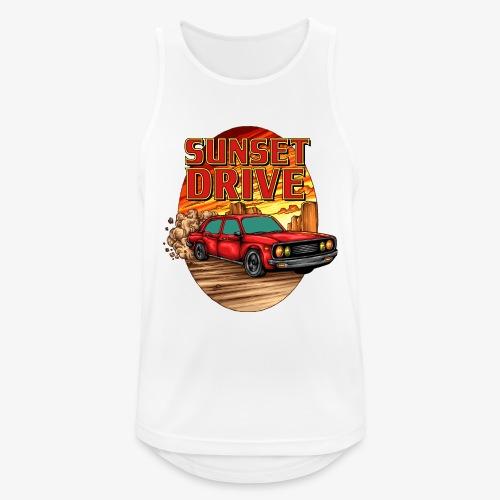 Sunset Drive - Männer Tank Top atmungsaktiv
