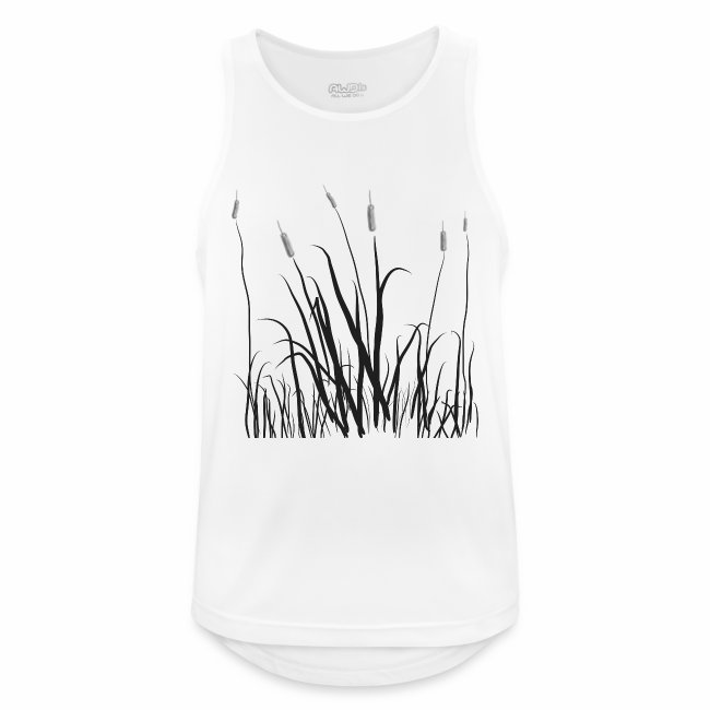 The grass is tall