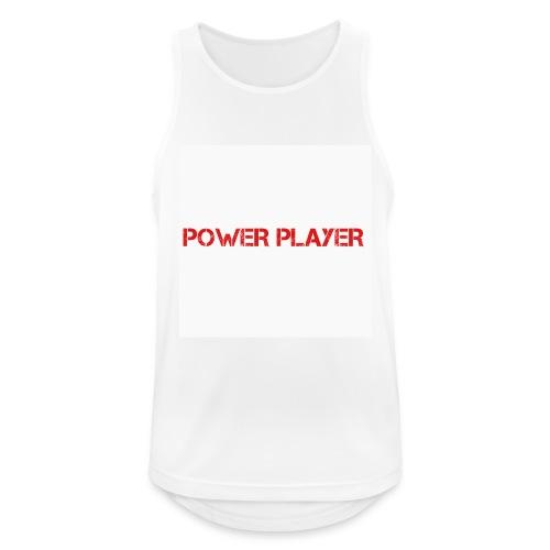 Linea power player - Canotta da uomo traspirante