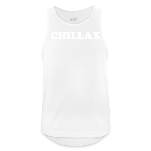 chill Collection - Pustende singlet for menn