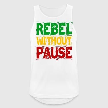 Rebel zonder pauze - Mannen tanktop ademend