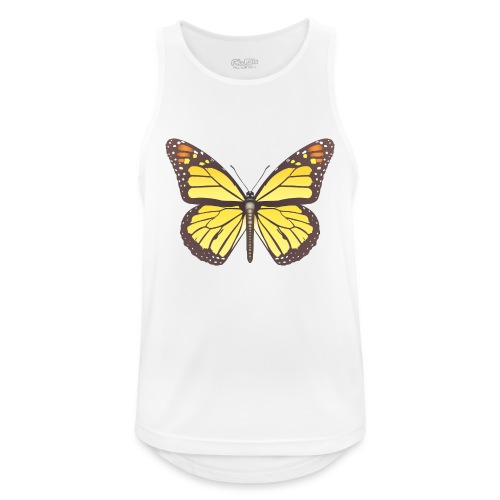 190520 monarch butterfly lajarindream - Camiseta sin mangas hombre transpirable