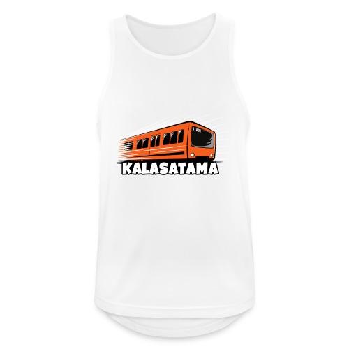 11- METRO KALASATAMA - HELSINKI - LAHJATUOTTEET - Miesten tekninen tankkitoppi