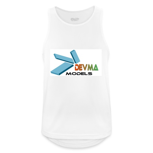 Devma Models Logo - Männer Tank Top atmungsaktiv