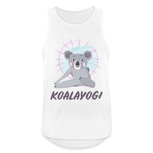 Koalayogi - Pustende singlet for menn