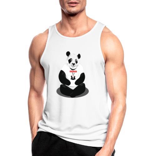 panda hd - Débardeur respirant Homme