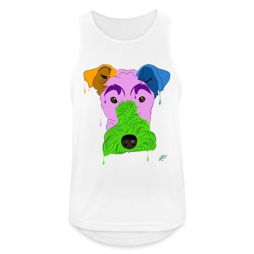 Fox Terrier - Canotta da uomo traspirante