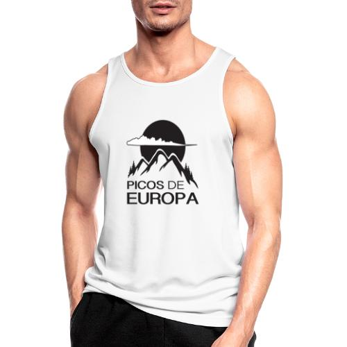 Picos de Europa - Camiseta sin mangas hombre transpirable