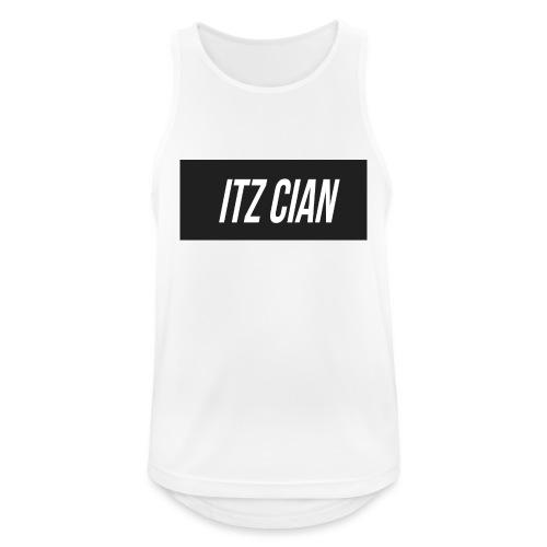 ITZ CIAN RECTANGLE - Men's Breathable Tank Top