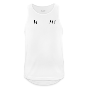 Miami Collection - Pustende singlet for menn