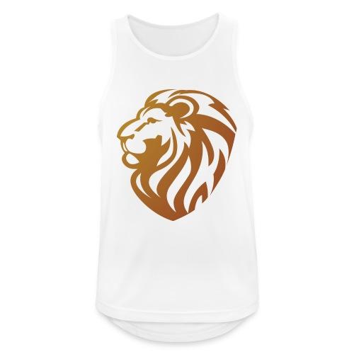 Bronze lion - Débardeur respirant Homme