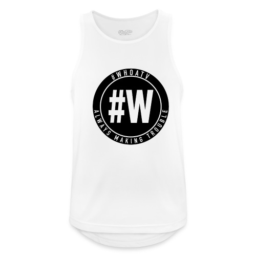 WHOA TV - Men's Breathable Tank Top