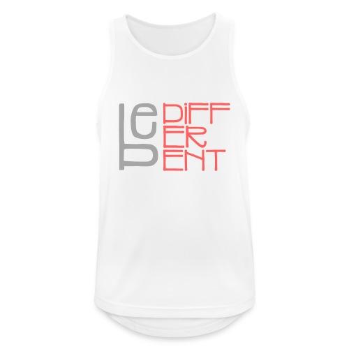 Be different - Fun Spruch Statement Sprüche Design - Männer Tank Top atmungsaktiv