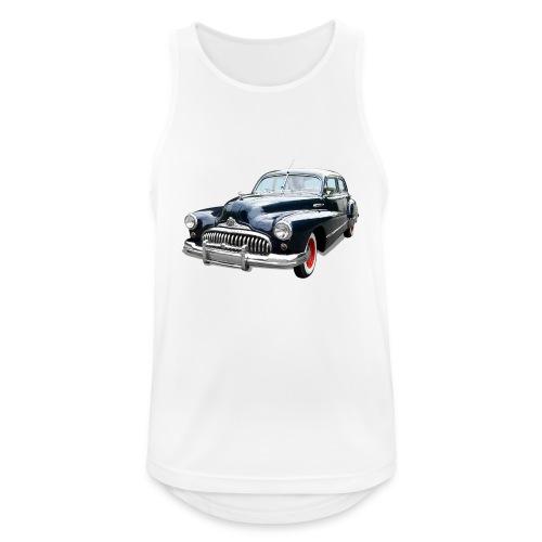Classic Car. Buick zwart. - Mannen tanktop ademend