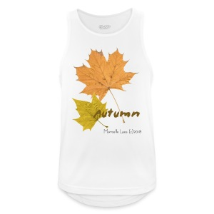 Streetworker art by Marcello Luce - autumn 2018 - Männer Tank Top atmungsaktiv