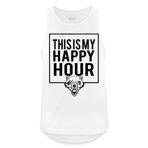 THIS IS MY HAPPY HOUR - Camiseta sin mangas hombre transpirable