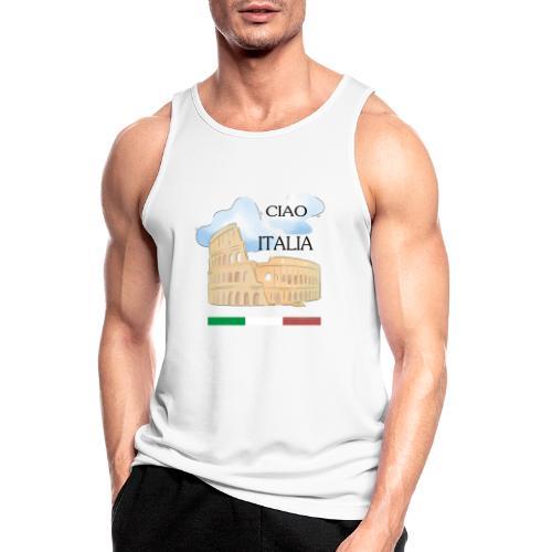 hello italy T-Shirts - Men's Breathable Tank Top