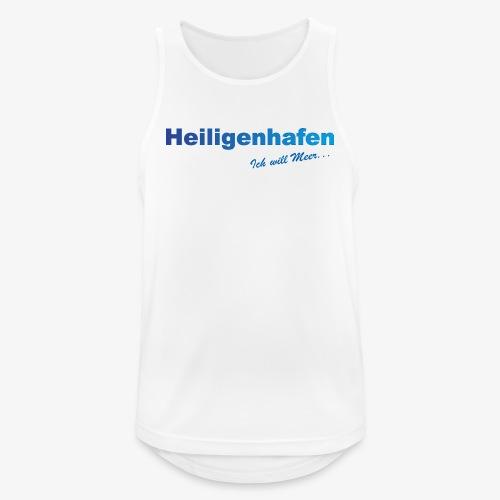 Heiligenhafen weiss Shirt - Männer Tank Top atmungsaktiv