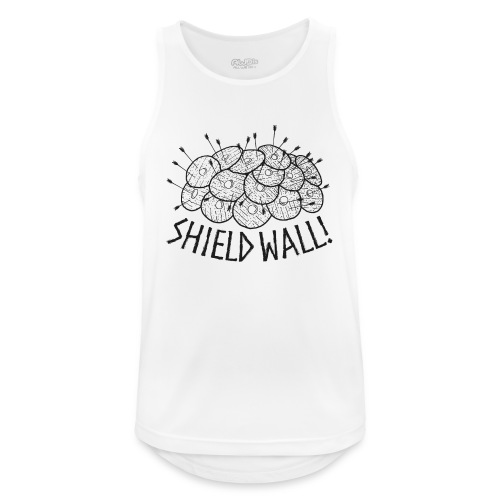 SHIELD WALL! - Men's Breathable Tank Top