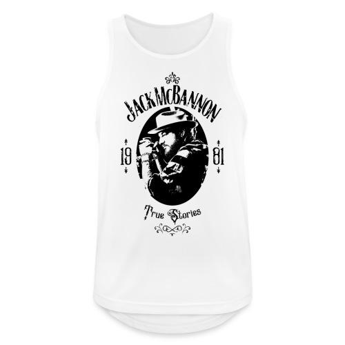 Jack McBannon - True Stories Portrait - Männer Tank Top atmungsaktiv