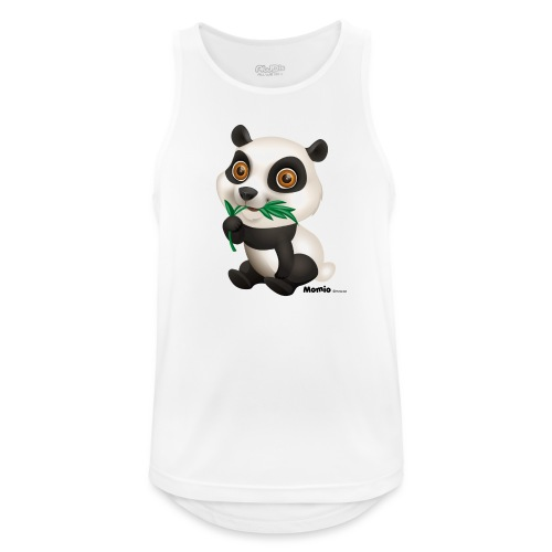 Panda - Pustende singlet for menn