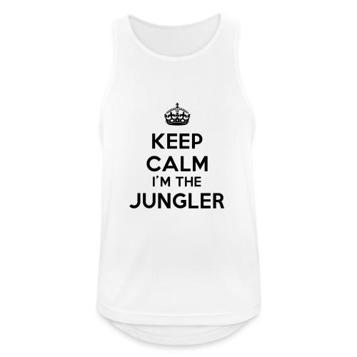 Keep calm I'm the Jungler - Débardeur respirant Homme