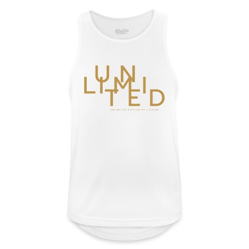 Unlimited gold - Men's Breathable Tank Top