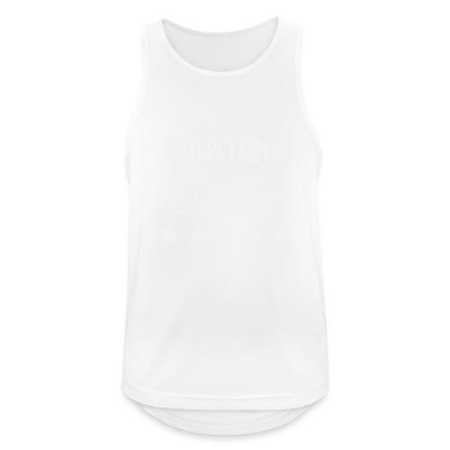 Official WRESTLING DE LA CREME Merchandise - Men's Breathable Tank Top