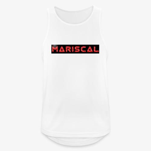MARISCAL - Camiseta sin mangas hombre transpirable