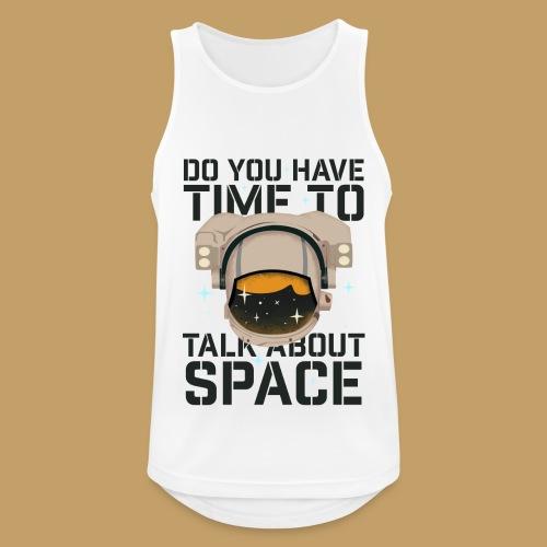 Time for Space - Tank top męski oddychający