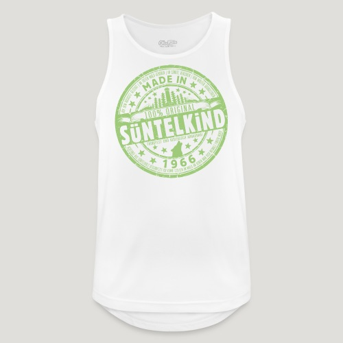 SÜNTELKIND 1966 - Das Süntel Shirt mit Süntelturm - Männer Tank Top atmungsaktiv