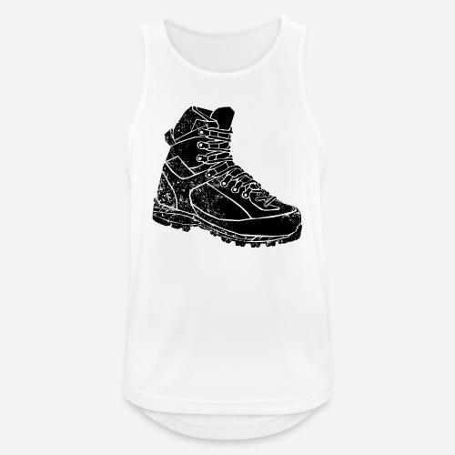 Wanderschuh   Shirt für Wanderfreunde - Männer Tank Top atmungsaktiv