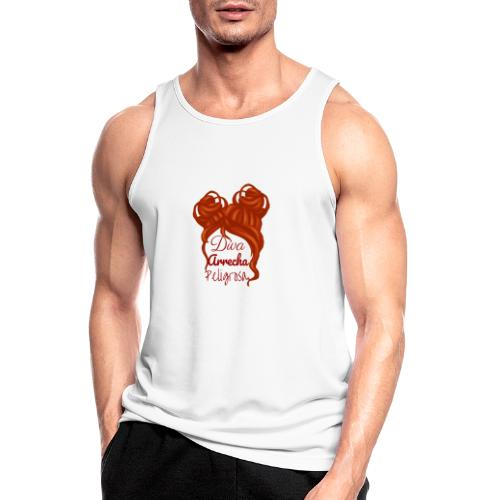 Diva - Camiseta sin mangas hombre transpirable