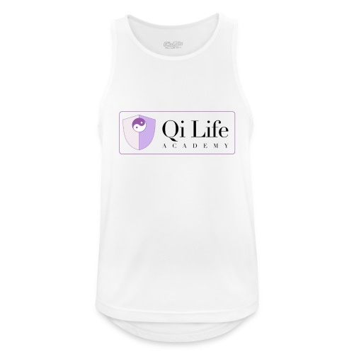 Qi Life Academy Promo Gear - Men's Breathable Tank Top