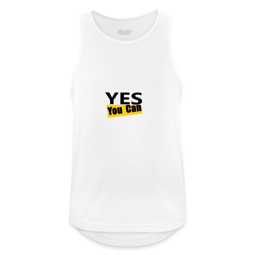 Yes you can - Débardeur respirant Homme