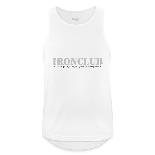 IRONCLUB - a way of life for everyone - Pustende singlet for menn