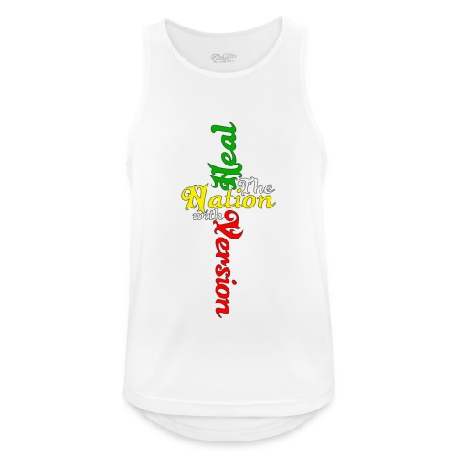 Reggae Healing Gears - Men's Breathable Tank Top