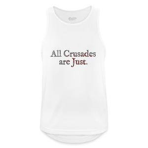 All Crusades Are Just. Alt.2 - Men's Breathable Tank Top